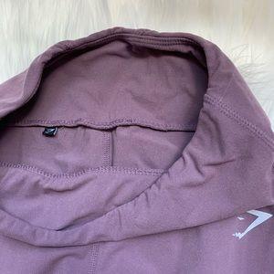 Purple gymshark pants